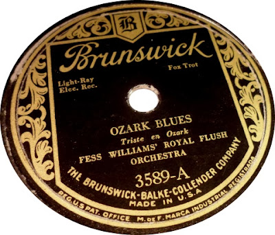 Fess Williams And His Royal Flush Orchestra - 'Leven-Thirty Saturday Night