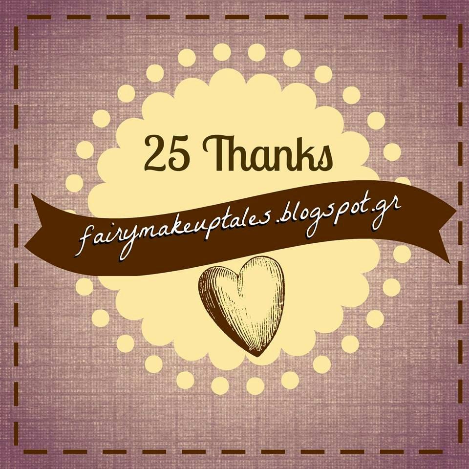 25 Τhanks......