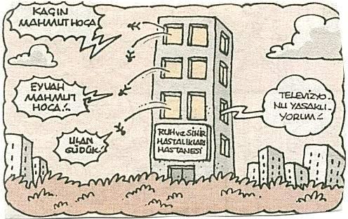 Tımarhane Karikatürü Yiğit Özgür