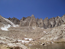 Mount Muir above Trail Camp