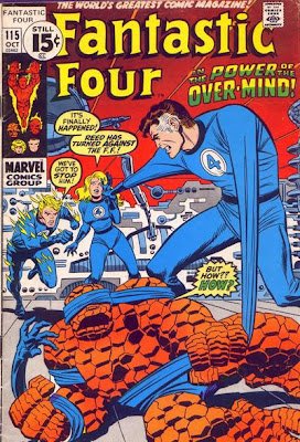 Fantastic Four #115, Reed Richards turns against the FF