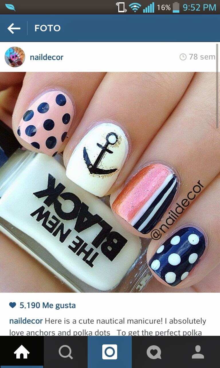 Nail styles como decorar tus u as - Como decorar unas ...