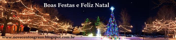 Nosso desejo de Boas Festas.