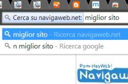 come usare la barra indirizzi e ricerca Chrome