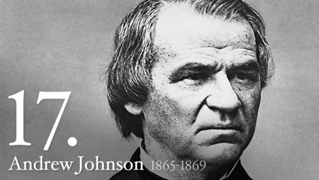 ANDREW JOHNSON 1865-1869