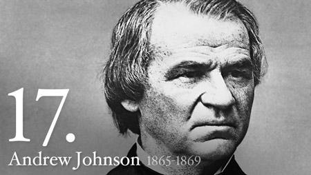 ANDREW JOHNSON 1865-1869