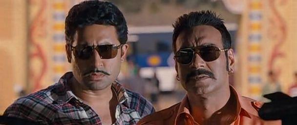 Screen Shot Of Hindi Movie Bol Bachchan (2012) Download And Watch Online Free at worldfree4u.com