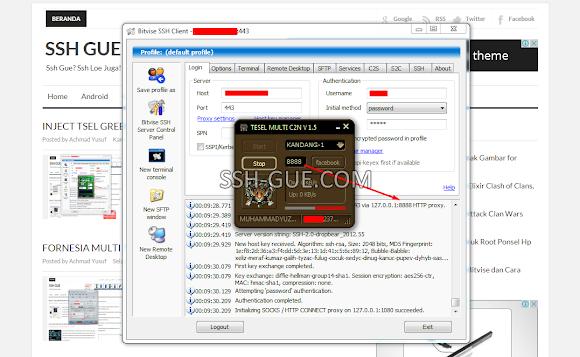 Inject Telkomsel C2N Multi Host v1.5 IP Kandang