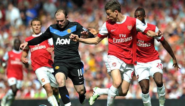 Ver partido Arsenal vs Manchester United en vivo