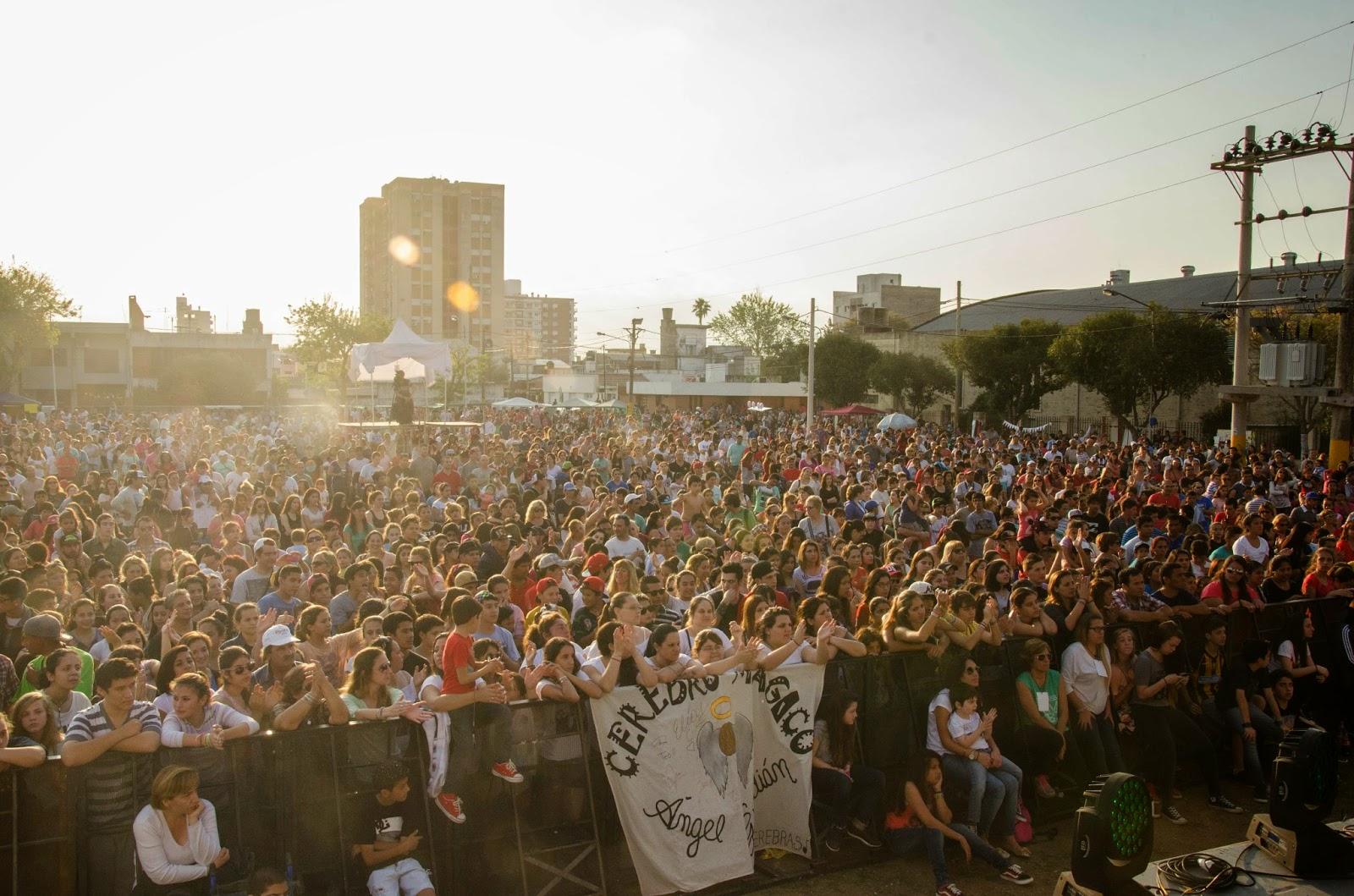 San Lorenzo recibió la primavera con una jornada plena de música y diversión