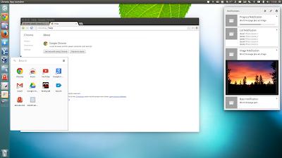 Google Chrome stable Aura linux