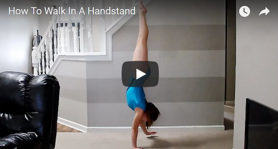 Kaip įsisavinti stovėseną ant rankų, merginoms video