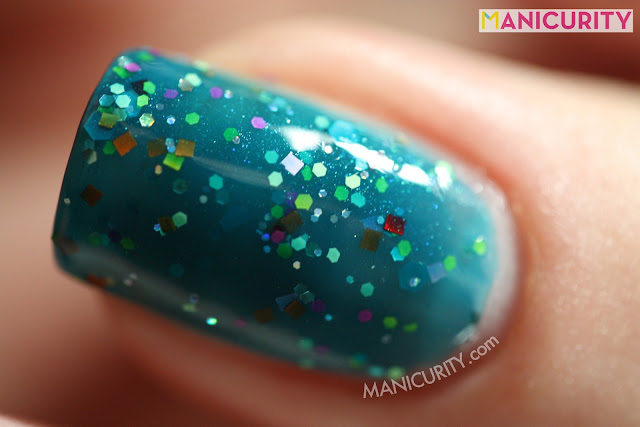 Manicurity | Polish Addict Nail Color = Tiki Bar