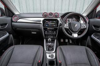 Suzuki Vitara S (2016) Dashboard