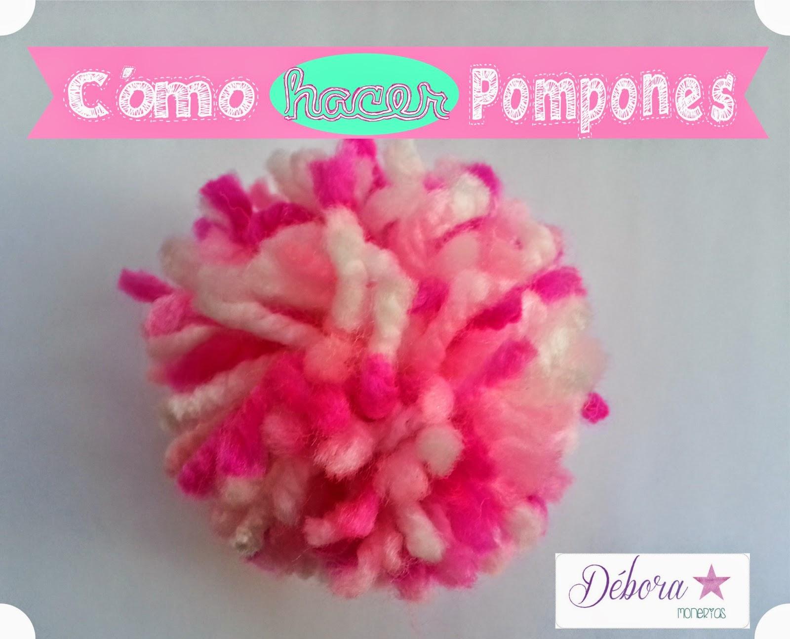 Pa mon sima yo c mo hacer pompones - Como se hacen los pompones ...