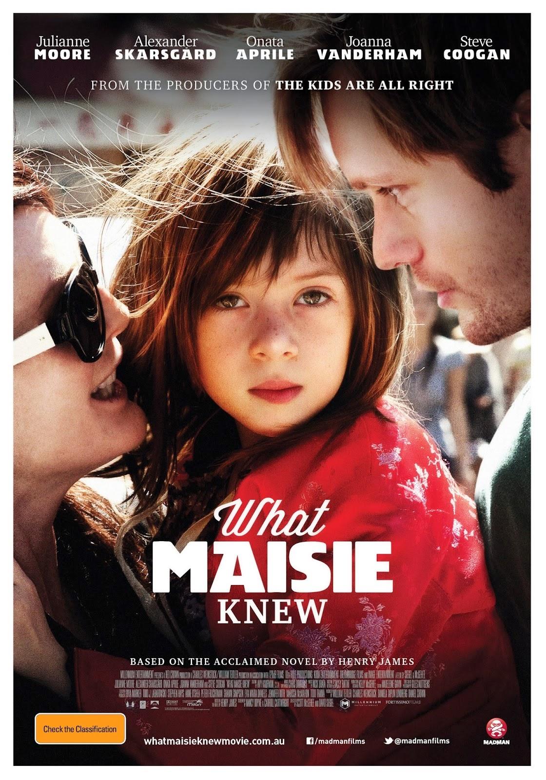 Lo que Maisie Sabia 2013 [DvDRipAudioLatino][Drama]