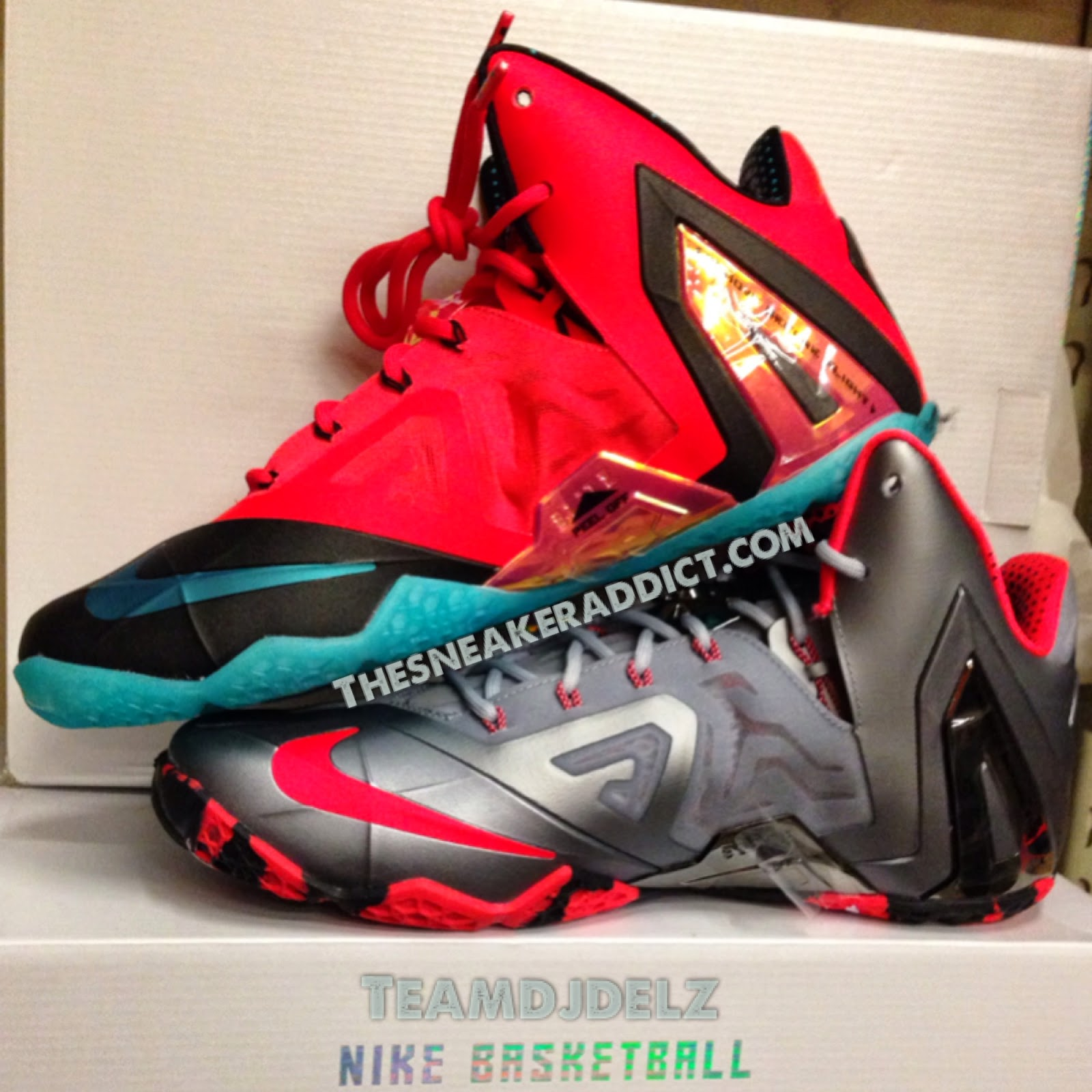 the sneaker addict nike lebron 11 elite quotteamquot vs