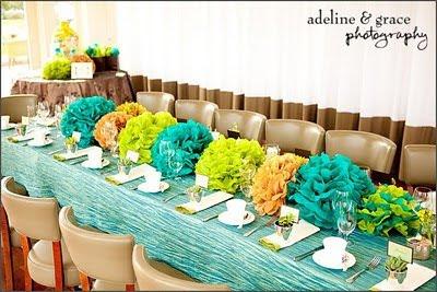 Studio LIME Design LOVE Rectangular Tablescapes