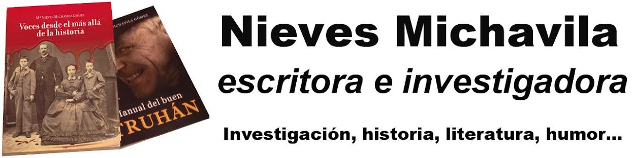 Nieves Michavila, escritora e investigadora