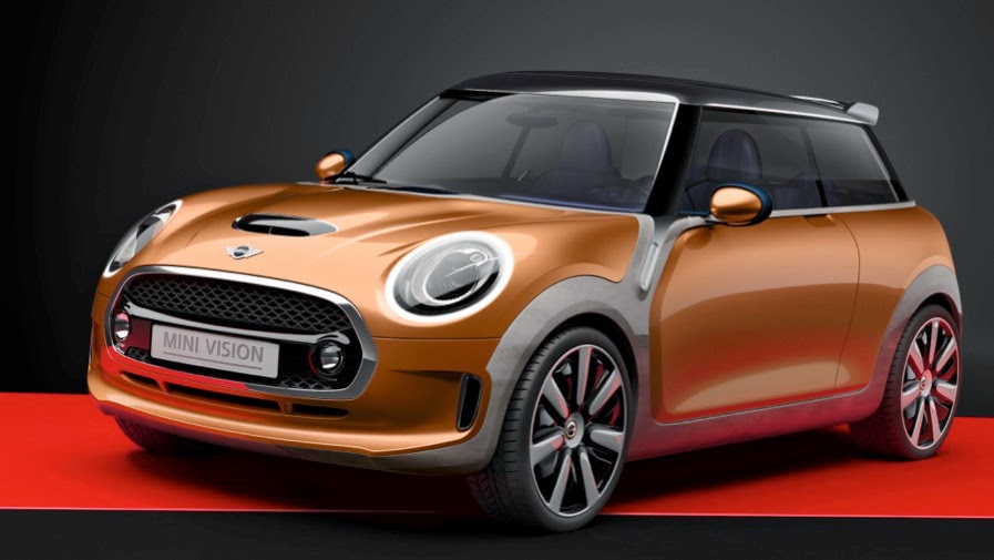 Mini Vision Looks At The Future Of Actual Size Cars