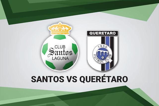 Santos vs Queretaro Online