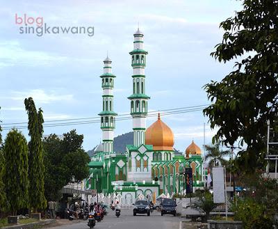 masjid raya kota singkawang