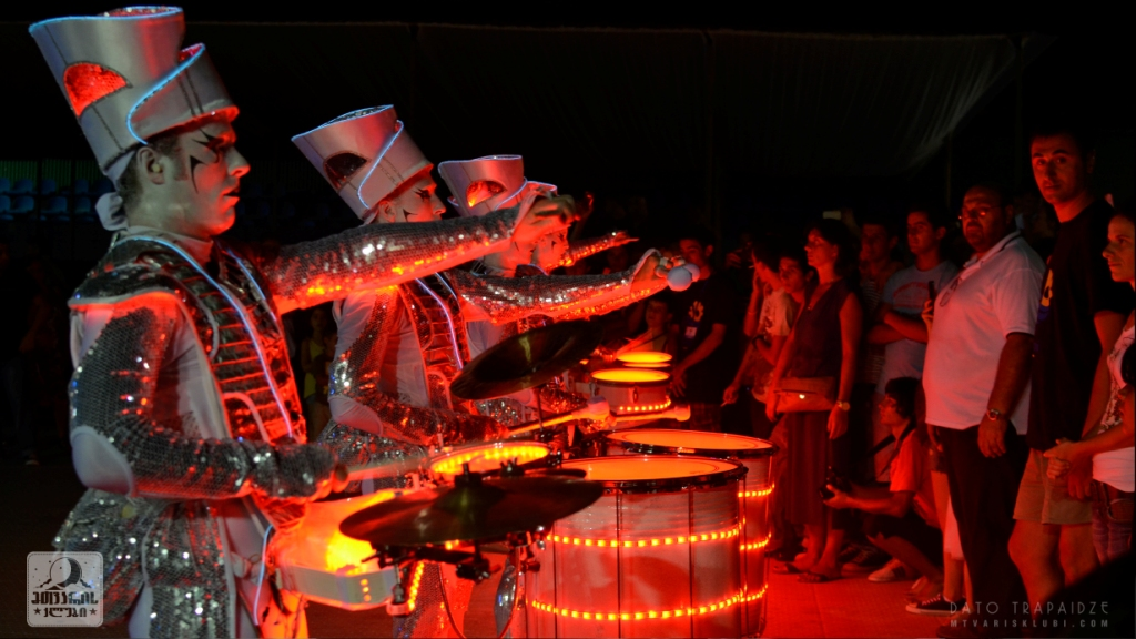 Spark! LED Drummers in Batumi