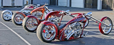 motos chopper e customizadas