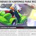 Nuevo Diario - Edición #485: ¡Carrera de Kartings para Todos!