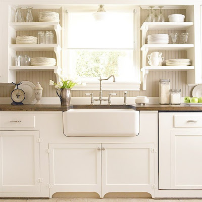 Natural Home Design: Country Kitchen Design Ideas :: KItchen Sinks