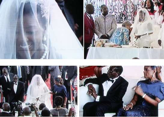 Mona Mugabe, President's Daughter Wedding in Harare