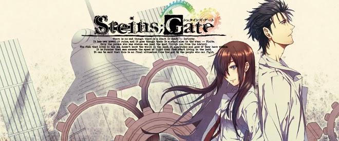 Steins Gate makise Kurisu Rintaro Okabe anime