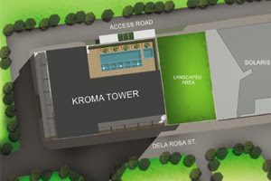 Kroma Tower Makati Site Development Map