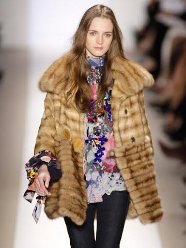 Дизайнерски кожени палта 2012