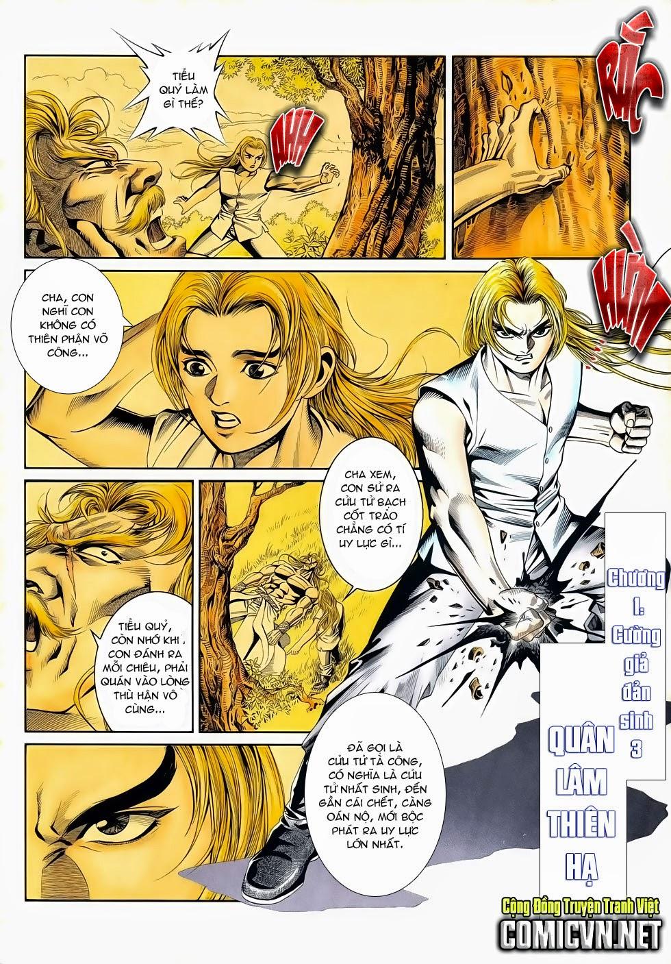 Long Hổ Phong Bạo chap 3 - Trang 2