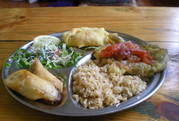 restaurante Hare Krishnas