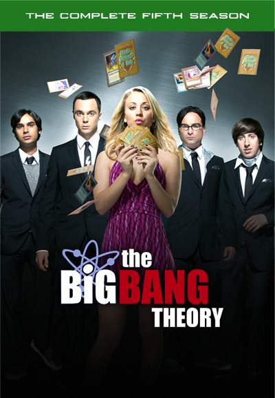 the geeky guide to nearly everything tv the big bang theory season 5. Black Bedroom Furniture Sets. Home Design Ideas