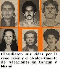 Ellos dieron sus vidas por la revolución