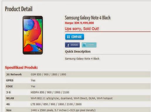 Galaxy Note 4 lộ thông số