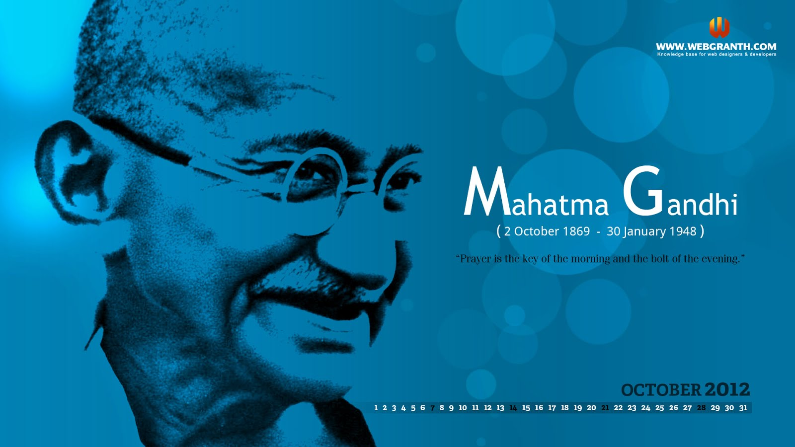 Mahatma Gandhi Hd Wallpaperrs