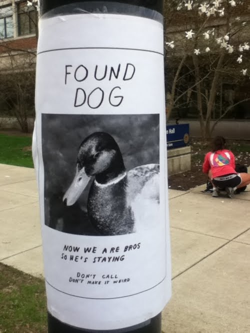 Damn Arbor March 2012 – Found Dog Poster Template