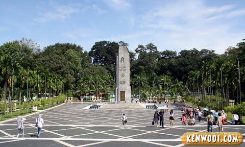 malaysia tugu negara pertama