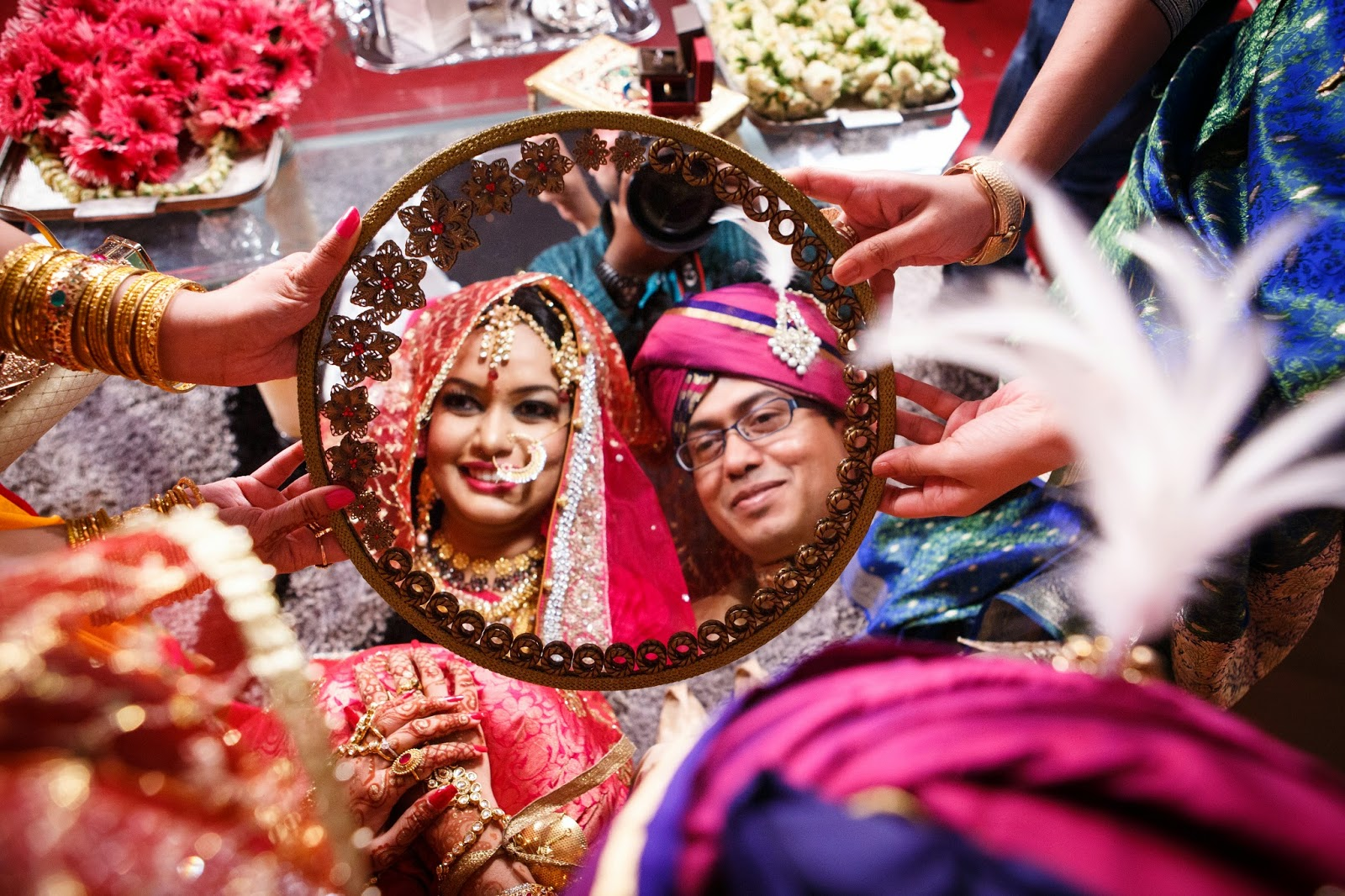 Bangladesh Mehndi Ceremony : Bangali bride and groom bangladeshi wedding g