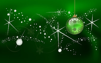 esfera verde navidad green globe for chirstmas 1920x1200 wallpaper