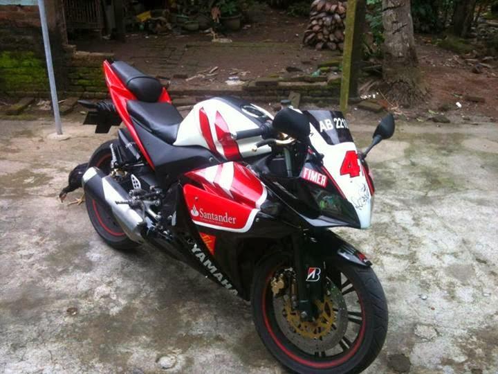Modifikasi Yamaha Vixion Sporty YZF-R125