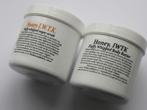 The Beauty Bakery Honey I.W.T.K. scrub & body butter.
