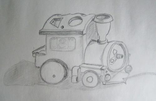игрушечный паравозик