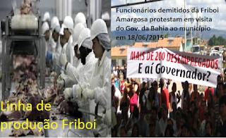 Friboi compra subsidiária da Marfrig na Irlanda por US$ 1,5 bilhão, e fecha frigoríficos no Brasil demitindo trabalhadores em Amargosa e em Quatro Marcos