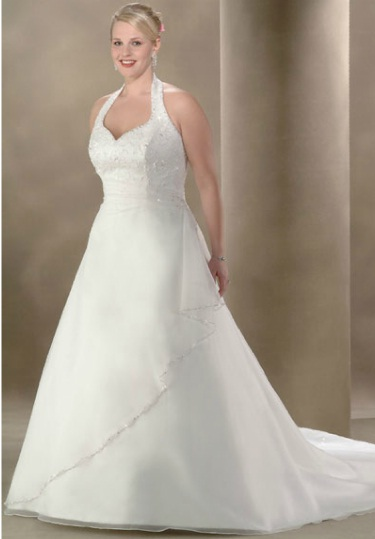 Custom Plus Size Wedding Dress