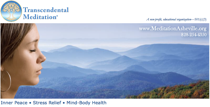 Transcendental Meditation Asheville: Inner Peace • Stress Relief • Mind-Body Health
